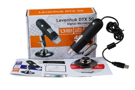 Микроскоп Цифровой Levenhuk DTX 50 Digital Microscope