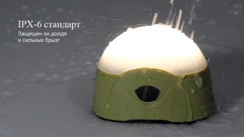 Фонарь Fenix CL20 Голубой Кемпинговый_3