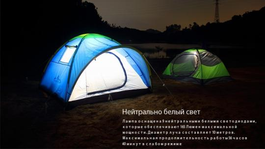 Фонарь Fenix CL20 Голубой Кемпинговый