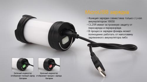 Фонарь Fenix CL25R Кемпинговый_1