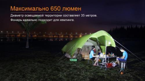Фонарь Fenix CL30R Кемпинговый_3