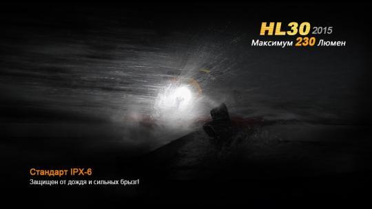 Фонарь Fenix HL30XP-G2 Налобный