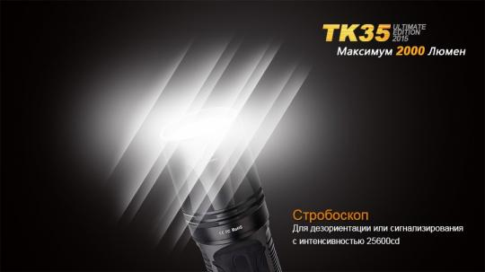 Фонарь Fenix TK35 XHP 50
