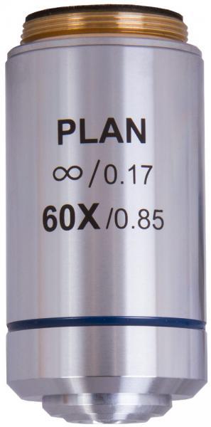 Объектив планахроматический Levenhuk  MED 1000 60x0,85