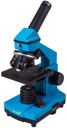 Микроскоп Levenhuk Rainbow 2L PLUS Лазурь
