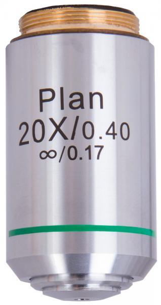 Объектив планахромаический Levenhuk MED 1000 20х0,40