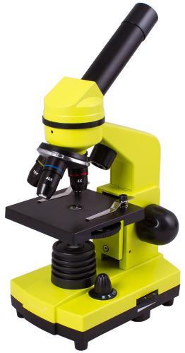 Микроскоп Levenhuk Rainbow 2L Лайм_0