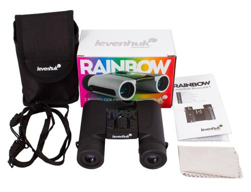 Levenhuk Бинокль Rainbow 8х25 Черный галстук_5