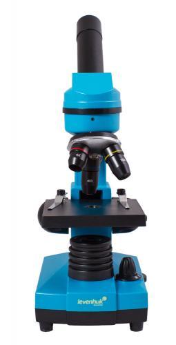 Микроскоп Levenhuk Rainbow 2L Лазурь_2