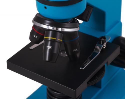 Микроскоп Levenhuk Rainbow 2L Лазурь_7
