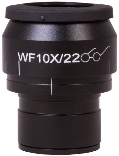 Окуляр Levenhuk MED WF10x/22 с перекрестьем, шкалой и диоптрийной коррекцией_0