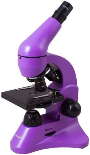Микроскоп Levenhuk Rainbow 50L Аметист_0