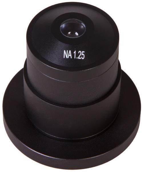 Конденсор темного поля A 1,25 Levenhuk MED (сухой)