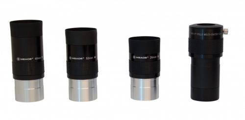 Набор MEADE (3 окуляра 4000, Барлоу, диагональное зеркало  2'', адаптер 1,25/2, 5 фильтров) в кейсе_1