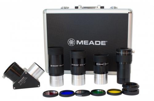 Набор MEADE (3 окуляра 4000, Барлоу, диагональное зеркало  2'', адаптер 1,25/2, 5 фильтров) в кейсе_2