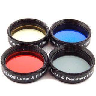 Комплект лунных и планетарных фильтров MEADE #3200