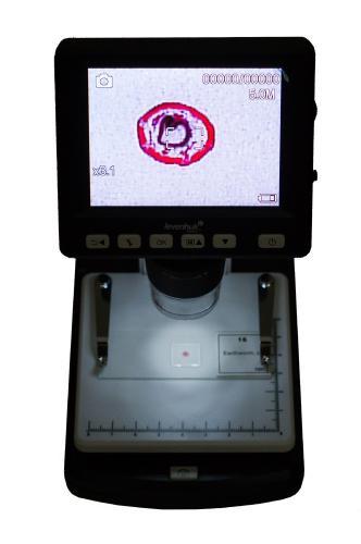 Микроскоп цифровой Levenhuk DTX 500 LCD_4