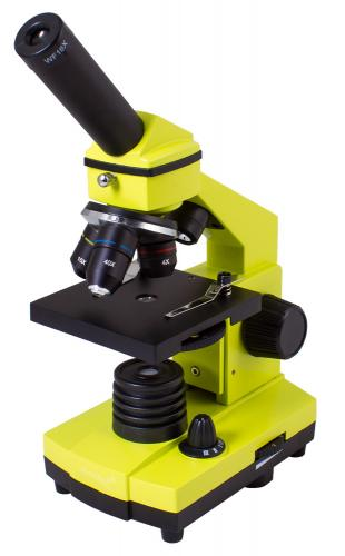 Микроскоп Levenhuk Rainbow 2L Лайм_1
