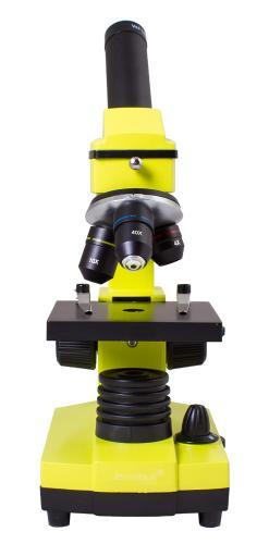 Микроскоп Levenhuk Rainbow 2L Лайм_3