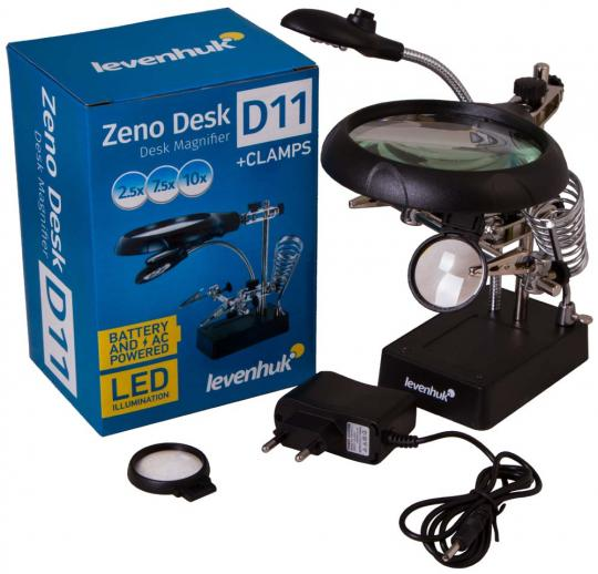 Лупа настольная Levenhuk Zeno Desk D11