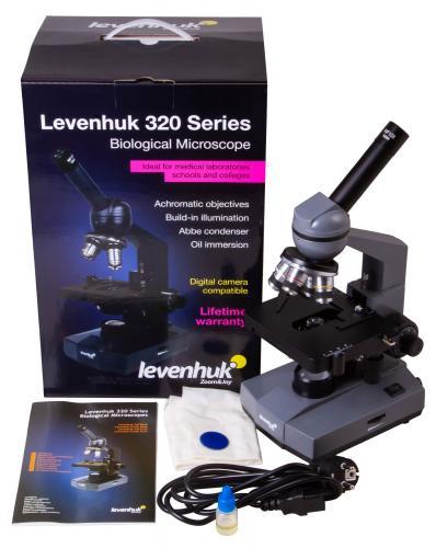 Микроскоп Levenhuk 320 BASE_9