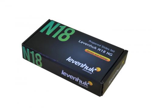 Набор готовых микропрепаратов Levenhuk N18 NG_4
