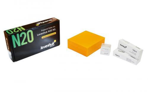 Набор готовых микропрепаратов Levenhuk N20 NG_0