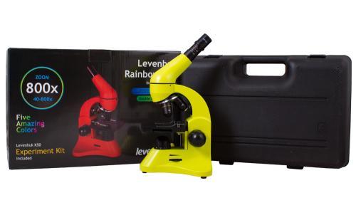 Микроскоп Levenhuk Rainbow 50L Лайм_8