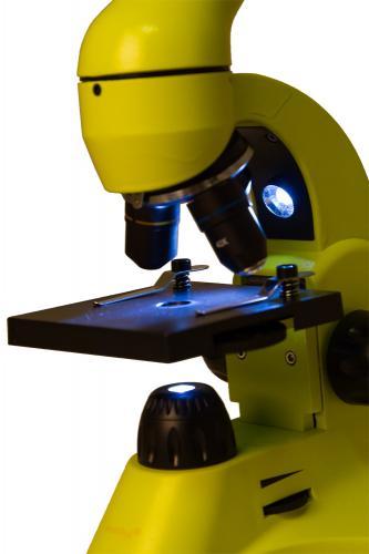 Микроскоп Levenhuk Rainbow 50L Лайм_6