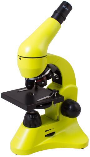 Микроскоп Levenhuk Rainbow 50L Лайм_0