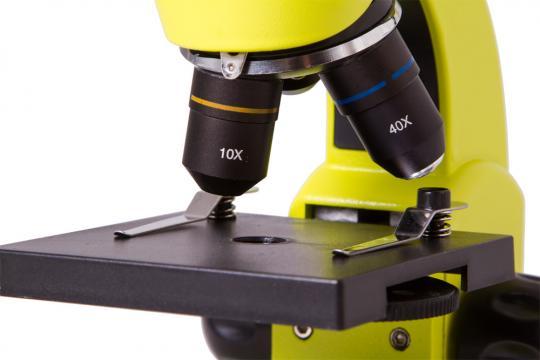 Микроскоп Levenhuk Rainbow 50L Лайм