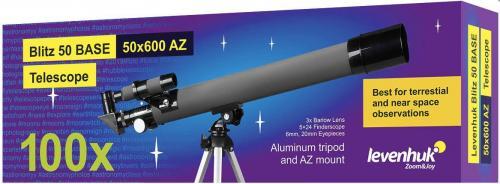 Телескоп Levenhuk Blitz BASE 50 мм_1